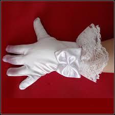 online shop kids gloves costume accessories children girls white