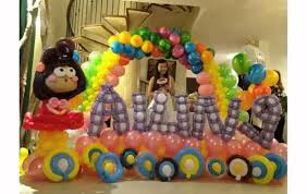 Home Decoration For Birthday by Balloons Decorations For Birthday Image Inspiration Of Cake And