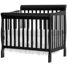 Annabelle Mini Crib White by Mini Crib Lisa Two Level Full Size Folding Convertible Crib