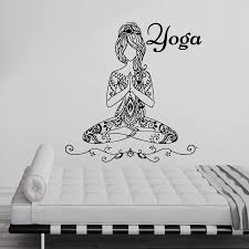 Yoga Home Decor by Online Get Cheap Meditation Poses Aliexpress Com Alibaba Group