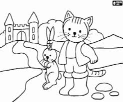 puss boots coloring pages printable games