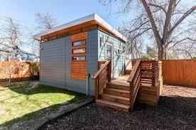 Modern Mini Houses by Modern Tiny House In Austin Texas