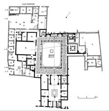 Plan Of House by Lifestyles Of The Roman Rich And Famous Houses And Villas At Pompeii