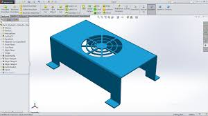 solidworks sheet metal tutorial vent youtube