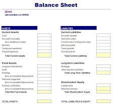 Account Balance Sheet Template Blank Balance Sheet Template Free Elsevier Social Sciences