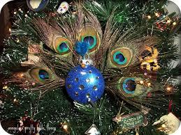 anngela s pretty things peacock ornament tutorial