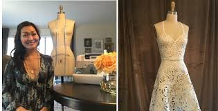 wedding dresses in st louis a st louis designer created your wedding dress out of