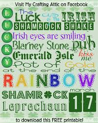 st patrick u0027s day fonts u0026 free subway art u2013 cherry blossom love