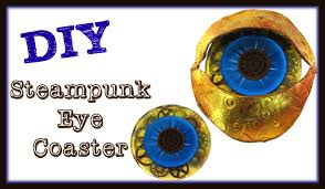 diy steampunk eye drink coaster another coaster friday craft