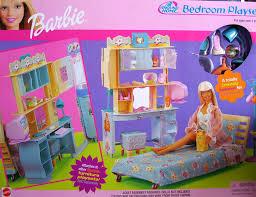 amazon com barbie all around home bedroom playset 2000 toys