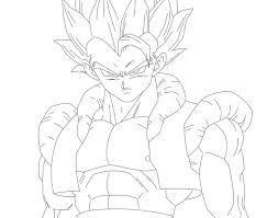 epic gogeta coloring pages 50 on coloring site with gogeta