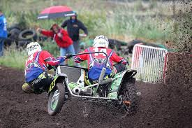 sidecar motocross racing injury doesn u0027t stop chelsea motohead