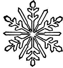 The Snowflake One And Four Small Coloring Pages Snowflake Clip Small Coloring Pages