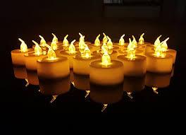 fake tea light candles 24 pack led tea lights candles flickering flameless tealight