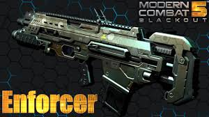 modern combat 5 enforcer review live gameplay youtube