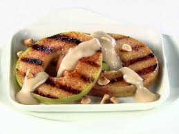 cuisine mascarpone grilled apple slices with caramel mascarpone pacific