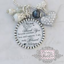 Wedding Gift Necklace Nana Necklace Thank You For Your Constant Love Wedding Jewelry