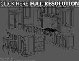 Kitchen Design Sketch Kitchen Design Sketch Home Design Sketch Plans Winning Plans Free
