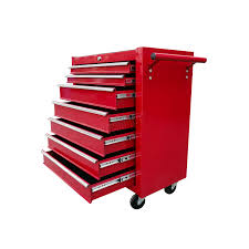 tool box foxhunter metal tool box chest cabinet storage organizer cart garage