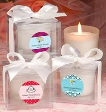 personalized bridal shower favors personalized bridal shower candle favors