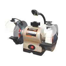 550w 200mm bench grinder with light u2013 topmaq