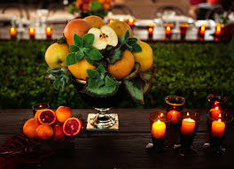 fruit centerpiece creative non floral wedding centerpieces