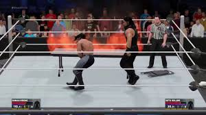 Set A Table by Wwe 2k17 How To Set A Table On Fire Youtube