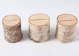 wedding table number holders 10 rustic place card holders table number holder birch wedding