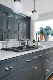 blue gray painted kitchen cabinets pin on ideas for our home