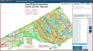Maps Canada by Orienteering Maps In Canada