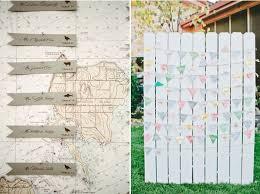 ideen zur hochzeit diy lustig tischkarten hochzeit ideen nameschilder an landkarte