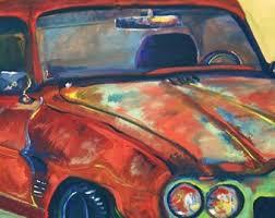 car painting etsy
