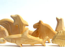 carved wooden animals sea animals seal wooden animals carved by
