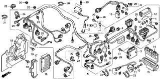 2010 honda trx420fa complete wiring harness diagram 100 images