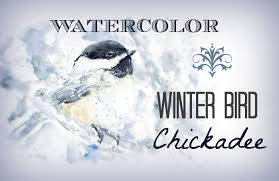 watercolor tutorial chickadee how to paint watercolor bird chickadee bird painting speed