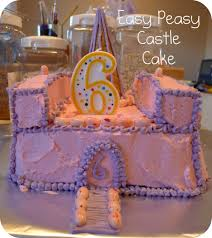 pieces by polly easy castle cake