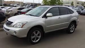 lexus fife used cars pre owned silver 2006 lexus rx 400h 4dr hybrid suv sherwood park