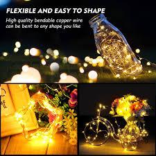 cymas led string lights 33ft 100 led waterproof decorative lights