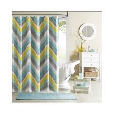 Bathroom Yellow And Gray - gray yellow teal curtains 11824