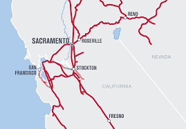 Union Pacific Route Map by Up Sacramento Rail Yard Cleanup Clears Way For Economic