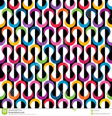 colored geometric pattern stock images image 31036354