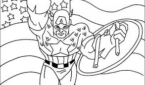 captain america 79 superheroes u2013 printable coloring pages