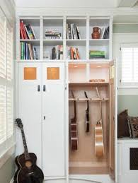 Guitar Storage Cabinet Plans How To Make A Guitar Humidifier Cabinet From A Book Case Can Be