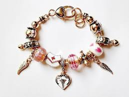 charm bracelet from pandora images Pandora inspired nurse charm bracelet red cross hat wings heart jpg