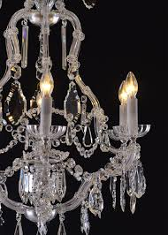 parlor chandelier maria theresia baroque style 1920 for sale at