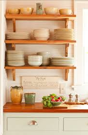 Kitchen Open Shelves Ideas 129 Best Open Shelves And Plate Racks Images On Pinterest