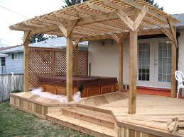 pergola building plans wooden u2014 all home design ideas step to