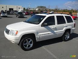 2002 jeep limited white 2002 jeep grand limited exterior photo