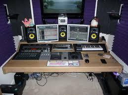 Oak Studio Desk by Custom Studio Desks Gallery Studioracks