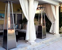 patio flame heater heater pyramid flame av party rental
